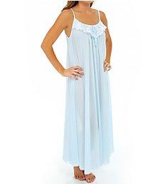 Amanda Rich Lace Trim Ankle Length Nightgown 164