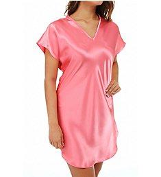 Amanda Rich Bias Cut Satin T-Shirt Gown 412-40