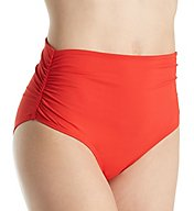 Anne Cole Live in Color Fold Brief Swim Bottom 17MB361