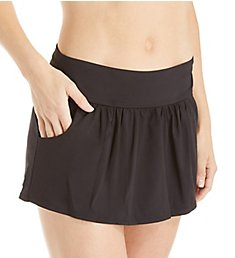 Anne Cole Live In Color Pocketed Skirted Brief Swim Bottom MB418