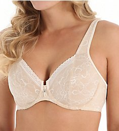 Bali Satin Tracings Lace Minimizer Bra 3446