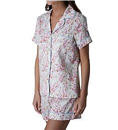 BedHead Pajamas Spring Branches Short Sleeve Short Notch PJ 1115CL7