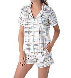 BedHead Pajamas Modern Plaid Short Set 242124M