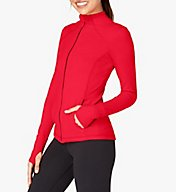 Beyond Yoga Hip To Zip Supplex Fitted Mock Neck Jacket SP2060