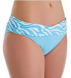Bleu Rod Beattie Tropical Fever Sarong Hipster Swim Bottom F19511