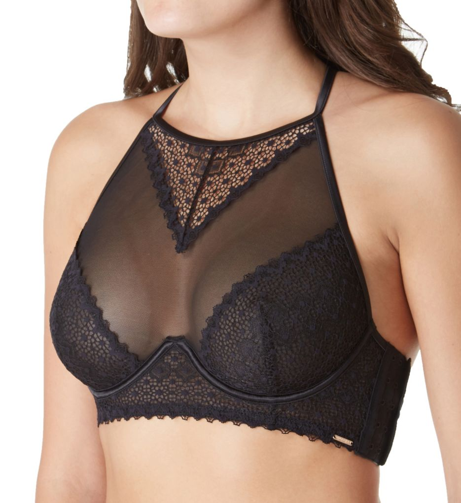 Bluebella Marcia High Neck Crop Bra 40161