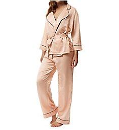 Bluebella Wren Kimono and Trouser Sleep Set 40210