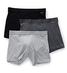 Bread and Boxers Men's Cotton Boxer Briefs - 3 Pack BBUUS206