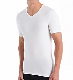 Bread and Boxers V-Neck Cotton Blend T-Shirt BNBUS107