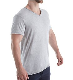 Bread and Boxers Relaxed V-Neck Organic Cotton T-Shirt BNBUS108