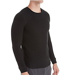 Bread and Boxers Men's Long Sleeve Thermal Crew Shirt BNBUS336