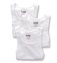 C-in2 Square Neck Ribbed Tank Top - 3 Pack 1327