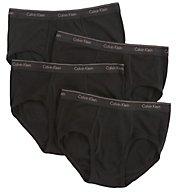 Calvin Klein Cotton Classic Basic Briefs - 4 Pack u4000