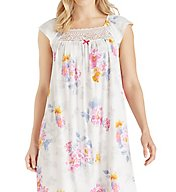 Carole Hochman Flora Short Sleeve Sleepshirt 1821421