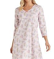 Carole Hochman Knit 3/4 Sleeve Sleepshirt 1821424