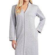 Carole Hochman Diamond Shimmer Quilt Zip Robe 1851203