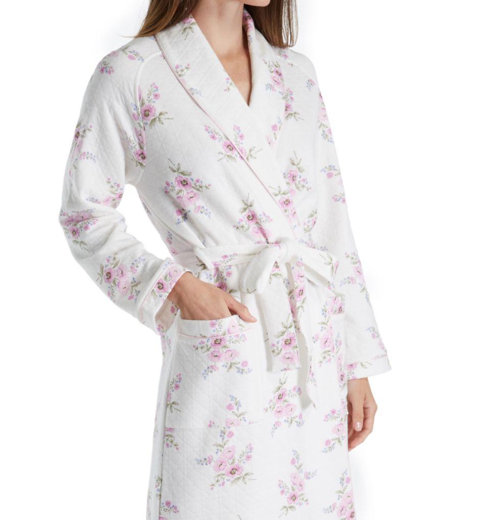 Carole Hochman Petal Diamond Quilt Robe 1851410