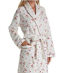 Carole Hochman Vine Floral Long Wrap Robe 1851452