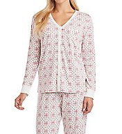Carole Hochman Holiday Bouquet 3 Piece PJ Set 1891261