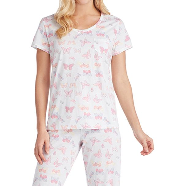 Carole Hochman Key Knit PJ Set 1891350