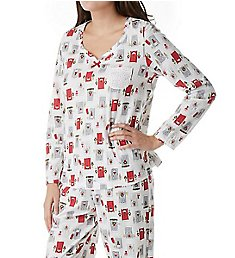 Carole Hochman Holiday Essential Long PJ Set 1891450