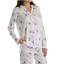 Carole Hochman Watercolor Long PJ Set 1891460