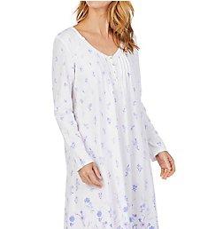 Carole Hochman Lilac Long Sleeve Cotton Waltz Gown CH01804