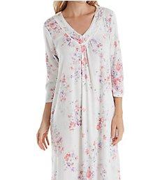 Carole Hochman Summer Bloom 3/4 Sleeve Long Gown CH11605