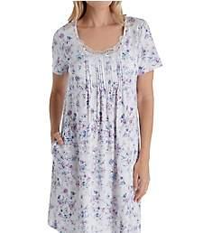 Carole Hochman Lavender Floral Short Gown CH21604
