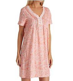 Carole Hochman Water Paisley Sleepshirt CH31506