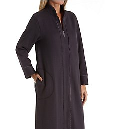 Carole Hochman Quilted Long Zip Robe CH41500