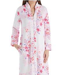 Carole Hochman Modern Floral Long Zip Robe CH41550