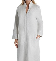 Carole Hochman Diamond Quilt Long Zip Robe CH41600