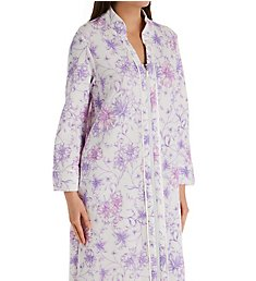 Carole Hochman Watercolor Floral Long Zip Robe CH51700