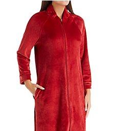 Carole Hochman Plush Luxe Velour Long Zip Robe CH51853