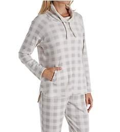 Carole Hochman Luxe Fleece Long Sleeve and Long Pant PJ Set CH61656