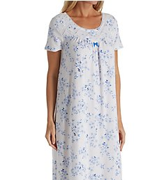 Carole Hochman Floral Twin Short Sleeve Long Gown CH81504