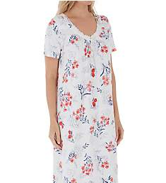 Carole Hochman Cherry Bloom Floral Long Gown CH81600