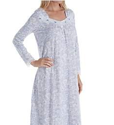 Carole Hochman Lilac Vine Floral Long Sleeve Long Gown CH81655