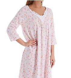 Carole Hochman Blossom 3/4 Sleeve Cotton Waltz Gown CH81802
