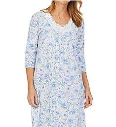 Carole Hochman 100% Cotton 3/4 Sleeve Waltz Gown CH82001