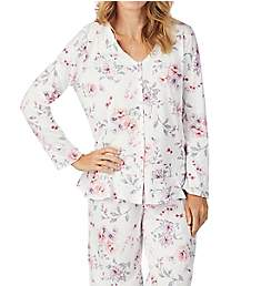 Carole Hochman Rose Floral Long Sleeve and Long Pant PJ Set CH91650