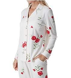 Carole Hochman Luxe Fleece Long Sleeve and Long Pant PJ Set CH91656