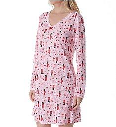 Carole Hochman Holiday Essential Long Sleeve Sleepshirt ZCH3701