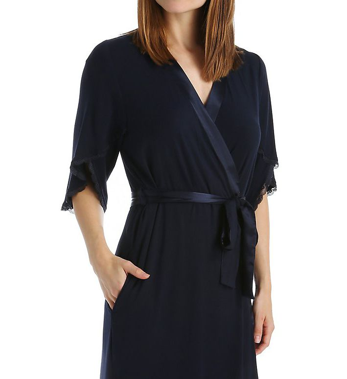 Carole Hochman Midnight Poppy Robe 1351101