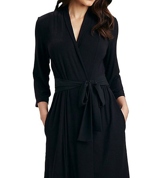 Carole Hochman Midnight Evening Robe 1351220