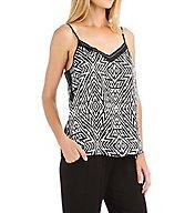 Carole Hochman Midnight Tulum Print Pajama Set 1391054