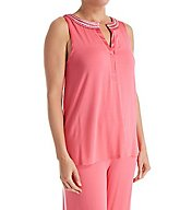 Carole Hochman Midnight Honeysuckle Long PJ Set 1391162