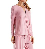 Carole Hochman Midnight Bouquet Long PJ Set 1391304