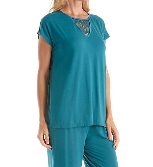 Carole Hochman Midnight Spring Fever Long PJ Set 1391305